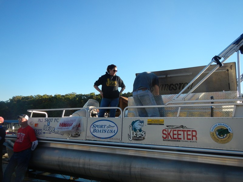 Joe Bass Team Trail Catch & Release pontoon.