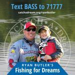 """Ryan Butler will be """"Fishing for Dreams"""" at the 2018 Bassmaster Classic"""